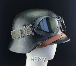 Wwi World War 2 Ww2 German Goggles Motorcycle Pilot
