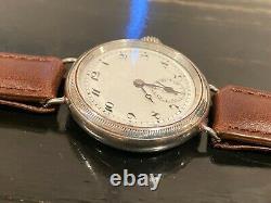 WW 1 Rolex trench watch, manual wind