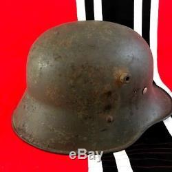 WW 1 WWI Austro-Hungarian M17 Stahlhelm Steel Helmet withliner. Nice. Orig