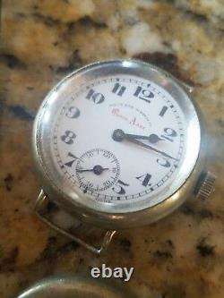 West End Watch Co. Queen Anne Trench World War 1/Vintage, Needs Svc
