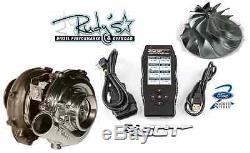 Wicked Wheel 2 & Garrett Powermax Turbo & SCT 7015 Tuner Ford Diesel 6.0L 03-07