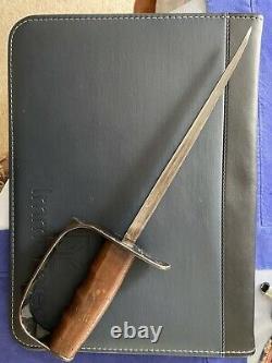 World War 1 1917 U. S. L. F. &C. Trench Art Knife Fixed Blade with Sheath