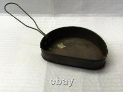 World War 1 1918 British D Type Mess Tin And Lid, Antique In Good Condition