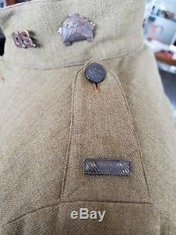 World War 1 U. S. Army uniform, Armored Forces, 1st Lieutenant