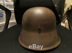 World War I or II German Helmet Military War Relic WW1 WW2