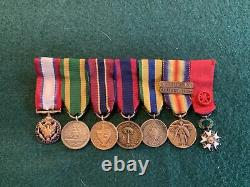 World War One And Earlier Medal Grouping To Colonel Charles DeForest Chandler