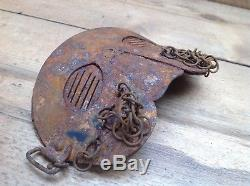 World War One British 1917 Dated Ww1 Tank Crew Relic Mask Face Protector