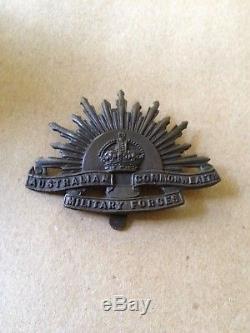 Ww1 Anzac 13th Australian Lighthorse Badges Group