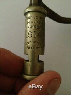 Ww1 Anzac Trench Whistle Arrow 1914