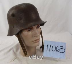 Ww1 Austrian Model 17 Helmet + Liner
