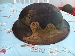 Ww1 British Brodie Steel Helmet Shell