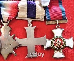 Ww1 Dso MC Gallantry Medal Group British Army Lt Colonel Smith Gallipoli Suvla