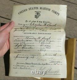 Ww1 Era Usmc Us Marine Corps Flyer Aviator Archive Grouping