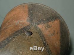 Ww1 German M-16 helmet. Totenkopf. Camo. Size 66. Complete