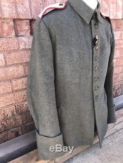 Ww1 German Tunic 1907/14 Original Wwi Imperial Prussian Uniform Jacket