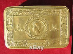 Ww1 Princess Mary Xmas Gift Tin With Contents Captain Royal Artillery