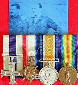 Ww1 Royal Flying Corps Night Bomber Sqn Military Cross Group Captain Middleton