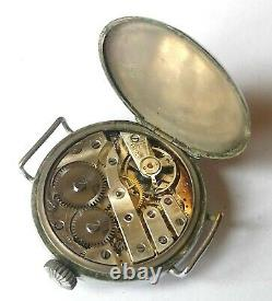 Ww1 Trench Watch British Army Military Wristwatch Men's Antique Vintage Wrist