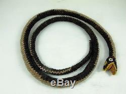 Ww1 Turkish P. O. W. Beaded Snake C1915