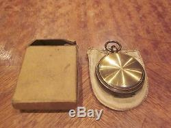 Ww1 U. S. Army Officer's Pocket Compass With The Box Look