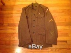 Ww1 Us Army 2nd Air Depot Tunic