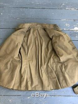 Ww1 WWI Jacket And Hat Dated 1918