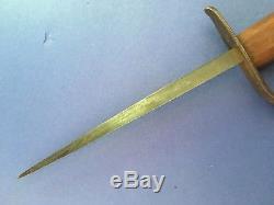 Ww1 Wwi Us Lf&c 1917 Stiletto Knife