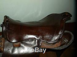 Ww 1 Militaria Universal Pattern (ups) Cavalry Horse Saddle