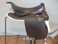 Ww 1 Military Universal Pattern (ups) Cavalry English Horse Saddle (d Mason)