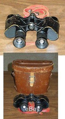 Ww-1 Signal Corps Us Army Artillery Bausch & Lomb Binoculars Prisim Stereo