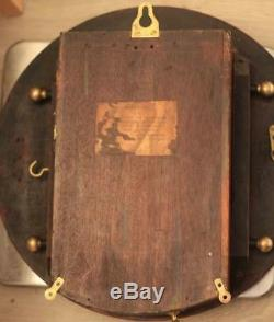 Wwi 1915 Royal Flying Corps 8 Day Fusee Dial Clock Per Ardua Ad Astra