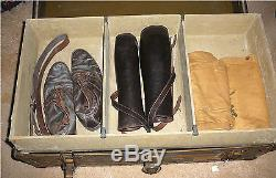 Wwi Foot Locker Capt H M Armbsy Co L 80th Division 318 Infantry & Personal Items
