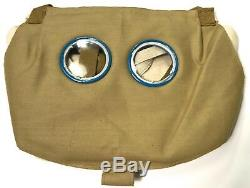 Wwi French M2 Gas Mask & Carry Bag