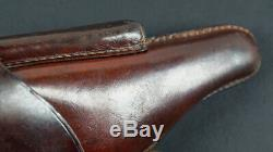 Wwi German Army Holster, Brown, P. 08 Luger, 1915