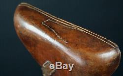Wwi German Holster & Officers Belt, Brown Luger, 1915