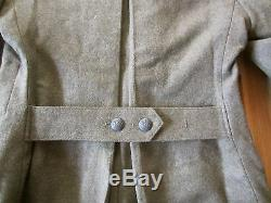 Wwi German M1915 Wool Winter Wool Overcoat-size II (38-42r)