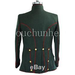 Wwi German Officer Gabardine Uhlan Jacket (custom Tailored / Made) -32540