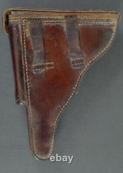 Wwi German P. 08 Luger Holster, Brown Leather