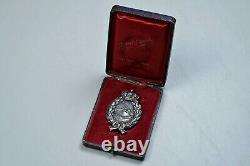Wwi Imperial Bavarian Pilot's Badge In Case By A. Werner & Shne