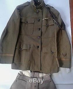 Wwi Uniform Dated 1918 Of General Terry De La Mesa Allen Served W Patton Wwii