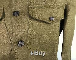 Wwi Us M1917 Wool Tunic Jacket- 2xlarge