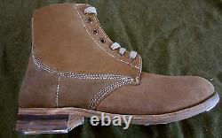 Wwi Us Pershing M1918 Infantry Trench Boots- Size 8