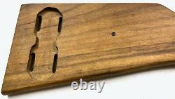 Wwi Wwii German P08 Navy Luger Pistol Wooden Stock
