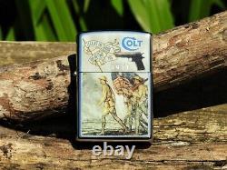Zippo Lighter Colt Model 1911 100th Anniversary M1911 WWI Doughboys